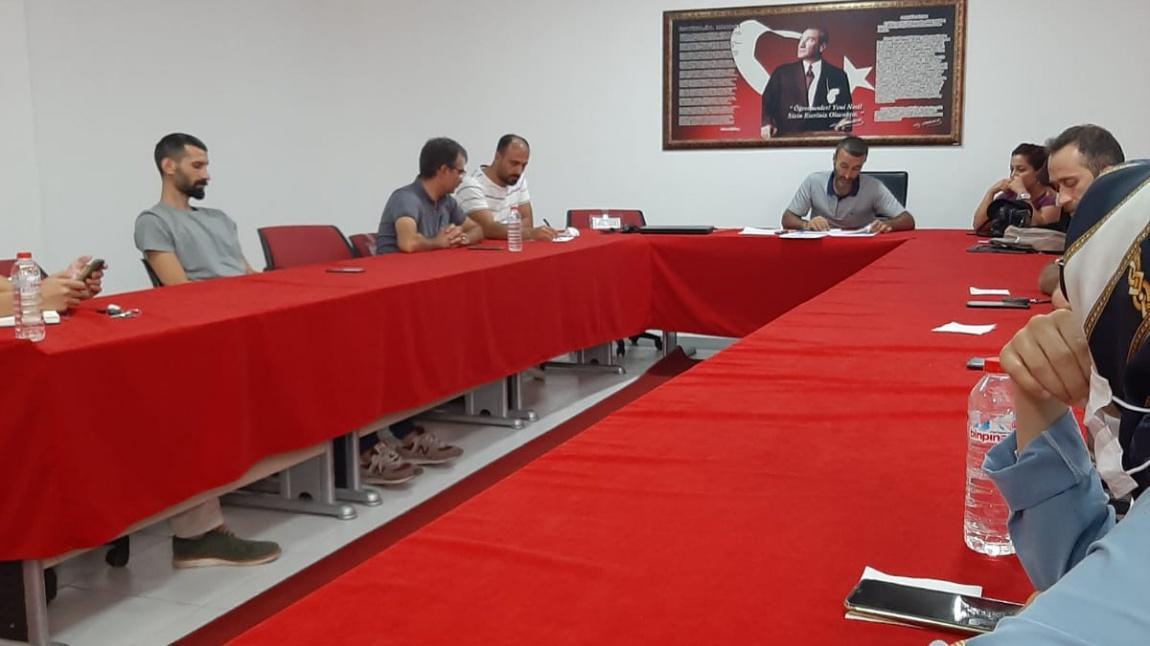 Zümre Başkanları Toplantısı Yapıldı